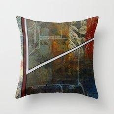 Comic Element Throw Pillow