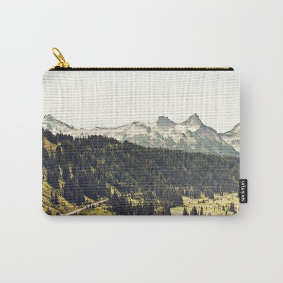 Epic Drive through the Mountains Carry-All Pouch