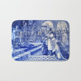 Portuguese Historical Art. Bath Mat