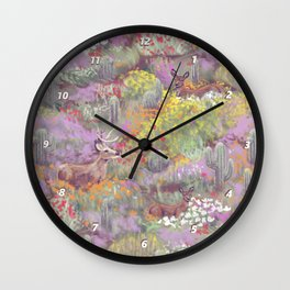 Life in Death Valley Wall Clock