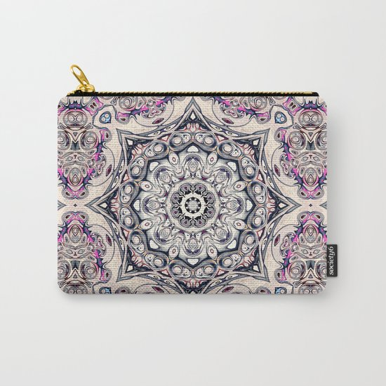 Abstract Octagonal Mandala Carry-All Pouch