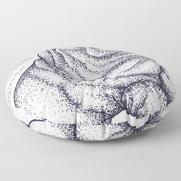Hippopotamus Floor Pillow