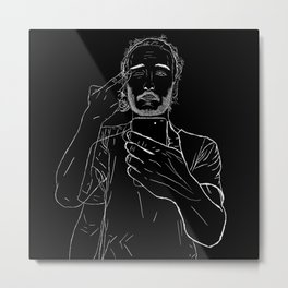 Love/Obsession/Self Metal Print