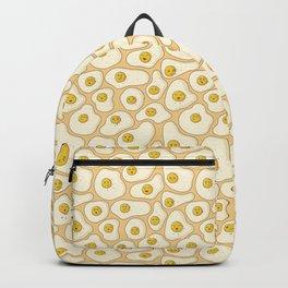 Kawaii Fried Eggs Pattern Backpack