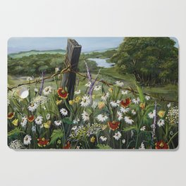 Wild Daisies Cutting Board