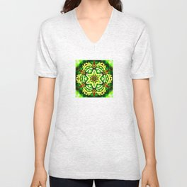 Twelve Around the One Redux - The Mandala Collection Unisex V-Neck