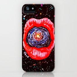 Cosmic Lips 2 iPhone Case