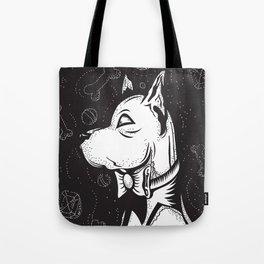 Family Portrait Dog Tote Bag