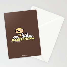Kopi Peng Stationery Cards