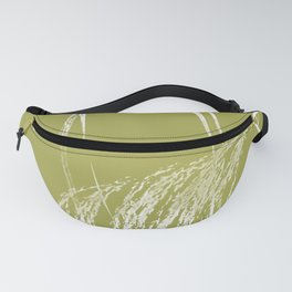 Green Grass - Minimal Nature Art Fanny Pack