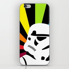 After the Storm... Rainbow Trooper iPhone & iPod Skin