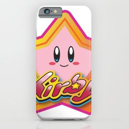 Kirby the Superstar (Icon) iPhone Case