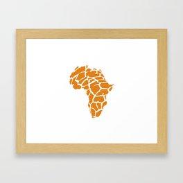 GiraffAfrica Framed Art Print