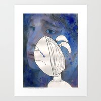 I feel sad Art Print