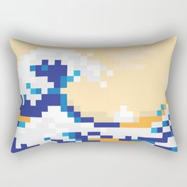 Pixewave Rectangular Pillow