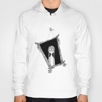 mirror Hoodies featuring Mirror by Andrew Mark Pickin