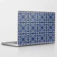 aelwen Laptop & iPad Skins featuring Blue by Shelly Bremmer