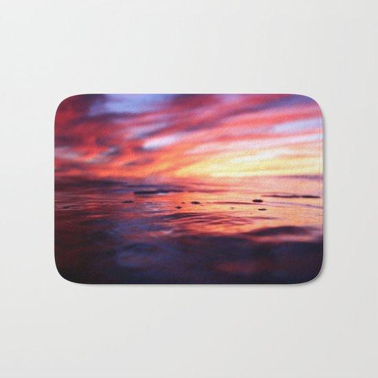 Miniature Sunset Beach Bath Mat