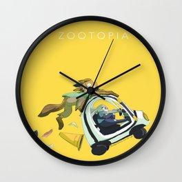 zootopia Wall Clock
