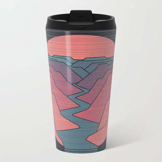 Canyon River Metal Travel Mug