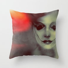 stoptryingtomakemesmile Throw Pillow