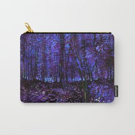 Van Gogh Trees & Underwood Purple Blue Carry-All Pouch