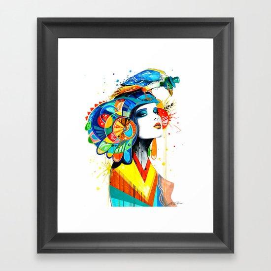 """""""The Aztec"""" Framed Art Print"""