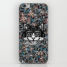 The Creative Cat iPhone Skin
