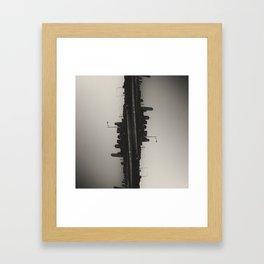 SIDEWAYS  Framed Art Print