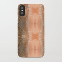 gray pattern iPhone & iPod Cases featuring pink-gray pattern by giol's by gianalberto oliva