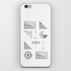 NAVIGATION iPhone & iPod Skin