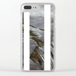 Water Bars Clear iPhone Case