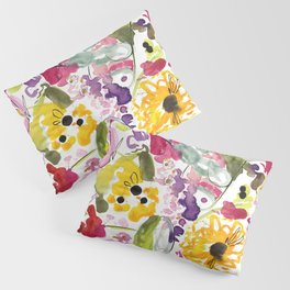 Jim Dandy Farm Flowers Pillow Sham