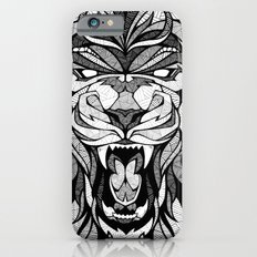 Angry Lion - Drawing iPhone 6 Slim Case