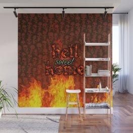 Hell Sweet Home Wall Mural