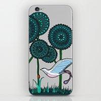 phoenix iPhone & iPod Skins featuring Phoenix by Evi Radauscher