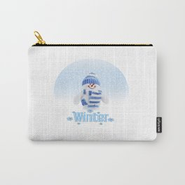 Cuter winter snowman Carry-All Pouch