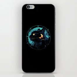 Puss the Devil Cat iPhone Skin