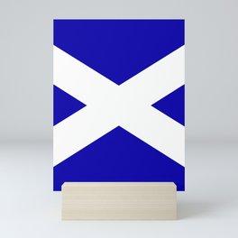 Scottish Flag Mini Art Print