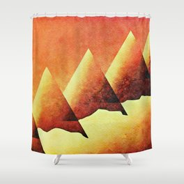 In the Deserts of the Nile Shower Curtain