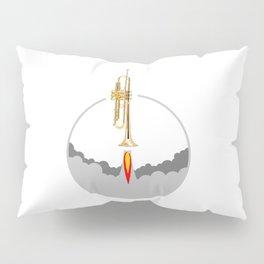 Trumpet Rocket Pillow Sham