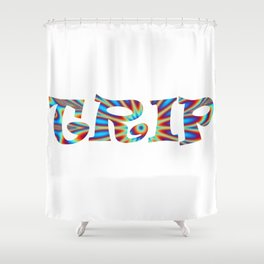 Trip Shower Curtain