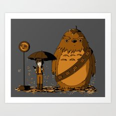 My Neighbor Chewie Art Print