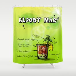 BloodyMary_002_by_JAMFoto Shower Curtain