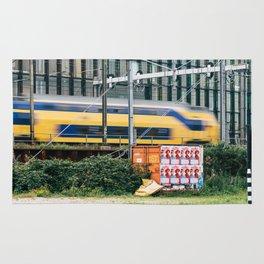 Commuter Train Rug