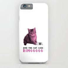 The cat goes ring iPhone 6s Slim Case