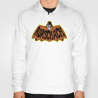 rorschach Hoodies featuring Rorschach by Buby87