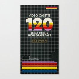 VHS (1) - Random Memories Canvas Print