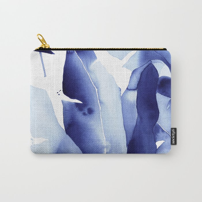 Royal Blue Palms no. 2 Carry-All Pouch