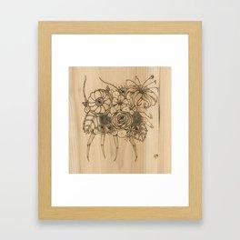 Sand Flea Framed Art Print
